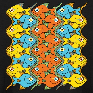 Something is Nicely Fishy Here! Kids' Shirts - Kids' Long Sleeve T-Shirt
