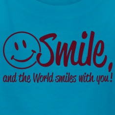 Smile, and the World smiles with you! Kids' Shirts