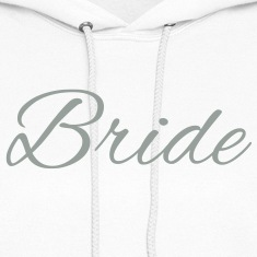 Bride Text Word Graphic Design Picture Vector Hoodies