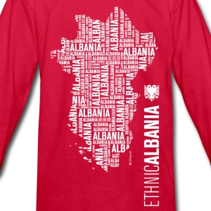 Ethnic ALBANIA - Kids' Long Sleeve T-Shirt