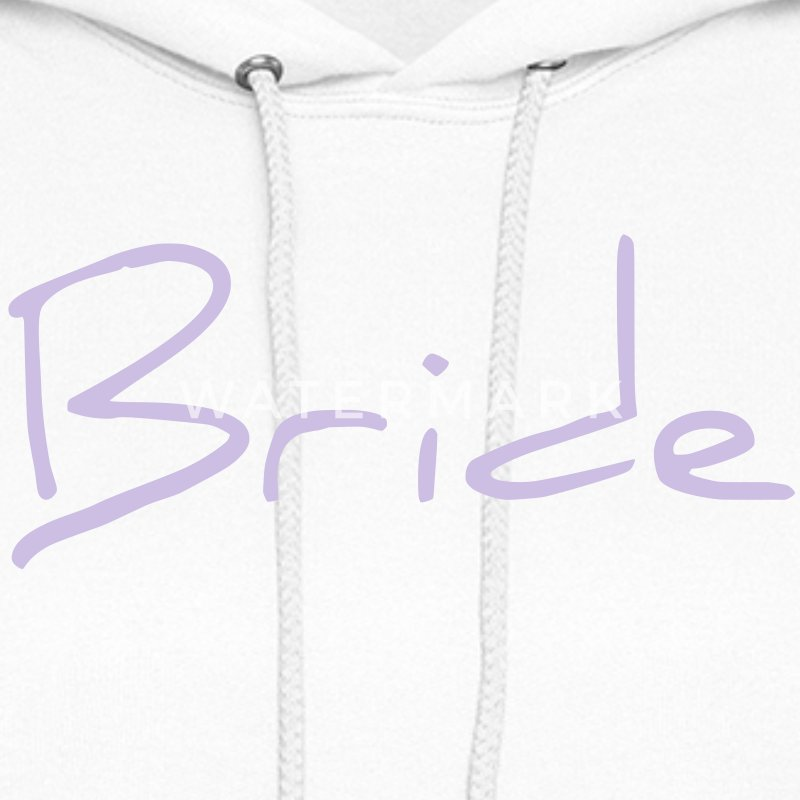 Bride Text Word Graphic Design Picture Vector Hoodies - Women's Hoodie