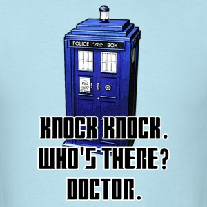 Knock Knock Tardis Tee (Mens) - Men's T-Shirt