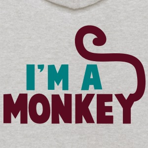 I'm a monkey cute! with tail Sweatshirts - Kids' Hoodie