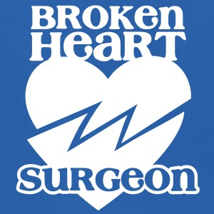 Broken heart surgeon funny design for anyone out of luck with Romance Sweatshirts - Kids' Hoodie