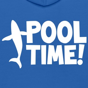 pool time! with a whale Sweatshirts - Kids' Hoodie