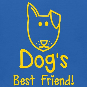 Dog's BEST FRIEND! perfect for pet owner Sweatshirts - Kids' Hoodie