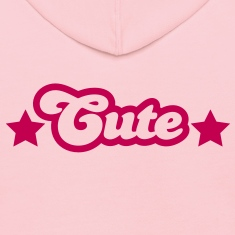 cute (the word) with stars Sweatshirts