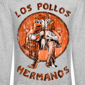 los pollos orange Long Sleeve Shirts - Crewneck Sweatshirt