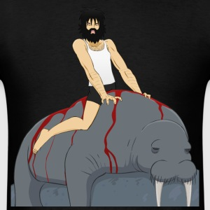 Passion like a bleeding walrus - Men's T-Shirt