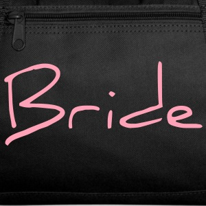 Bride Text Word Graphic Design Picture Vector Bags  - Duffel Bag