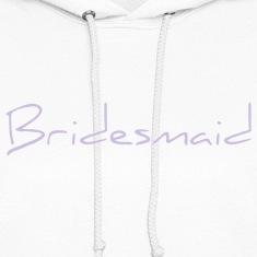 Bridesmaid Text Word Graphic Design Picture Vector Hoodies