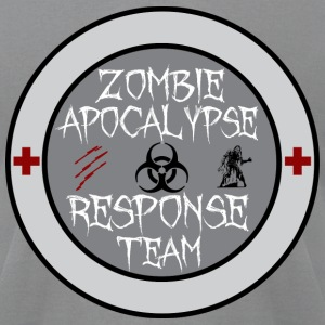 zombie apocalypse response team T-Shirts - Men's T-Shirt by American Apparel