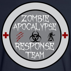 zombie apocalypse response team Long Sleeve Shirts - Men's Long Sleeve T-Shirt