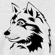 Design ~ animal t-shirt wolf wolves pack hunter predator howling wild wilderness dog husky malamut