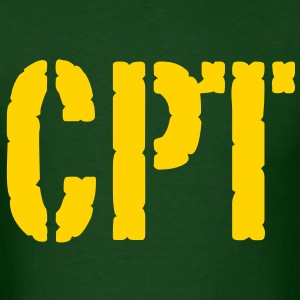 CPT army rank - Men's T-Shirt