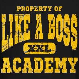 Property of Like A Boss Academy Long Sleeve Shirts - Crewneck Sweatshirt