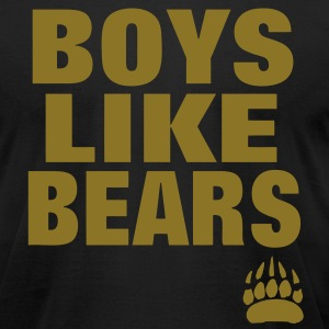 BOYS LIKE BEARS T-Shirts - Men's T-Shirt by American Apparel