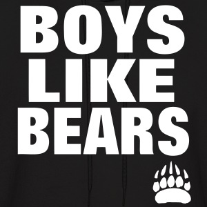 BOYS LIKE BEARS Hoodies - Men's Hoodie