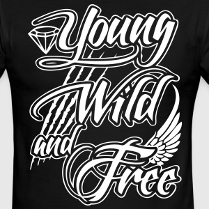 Young, Wild, and Free T-Shirts - stayflyclothing.com - Men's Ringer T-Shirt