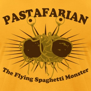 The Flying Spaghetti Monster - Men's T-Shirt by American Apparel