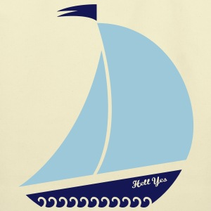 A sailboat tote? Hell yes. - Eco-Friendly Cotton Tote