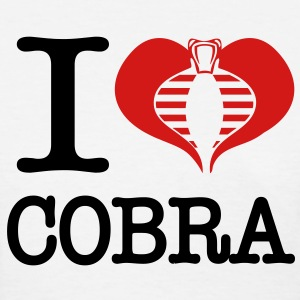 I Heart Cobra - Women's T-Shirt