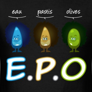 Eau pastis olives cartoon T-Shirts - Men's T-Shirt