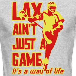 LAX Ain't Just A Game Long Sleeve Shirts - Men's Long Sleeve T-Shirt by Next Level