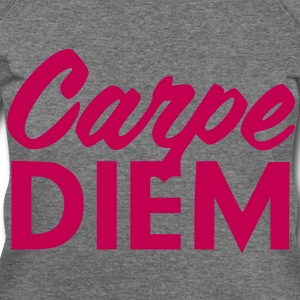 Carpe Diem Wide Neck  - Women's Wideneck Sweatshirt