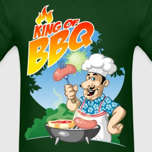 king of BBQ T-Shirts - Men's T-Shirt