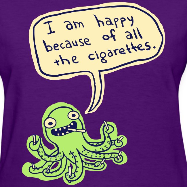 Ozzie the Chain-smoking Octopus