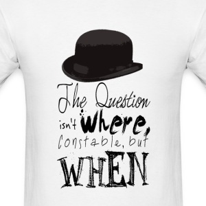 Inspector Spacetime Quote - Men's T-Shirt