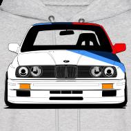 Design ~ Classic Racer: DTM E30 M3 Hooded Sweatshirt