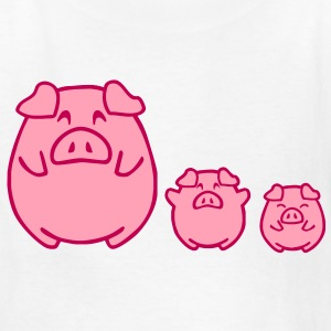 three cute pigs Kids' Shirts - Kids' T-Shirt