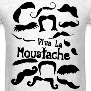 viva la moustache T-Shirts - Men's T-Shirt