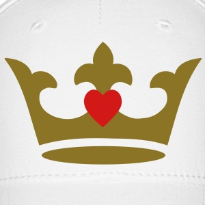 crown - heart Caps - Baseball Cap