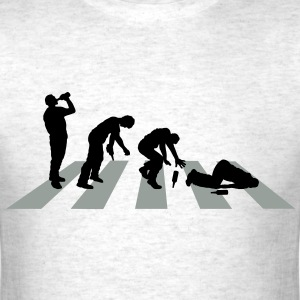 Abbey Road Drunk Crossing - Men's T-Shirt