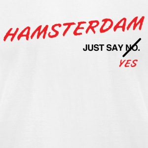 Hamsterdam T-Shirt (White) - Men's T-Shirt by American Apparel