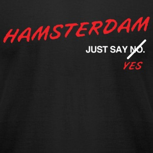 Hamsterdam T-Shirt (Black) - Men's T-Shirt by American Apparel