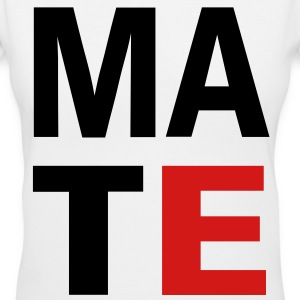 Soul Mate Left Side - Women's V-Neck T-Shirt
