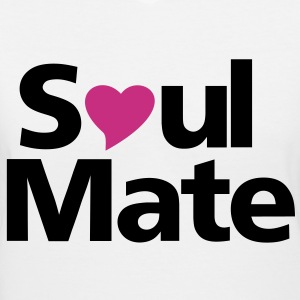 Soul Mate For her - Women's V-Neck T-Shirt