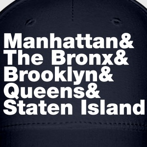 Five Boroughs ~ New York City Caps - Baseball Cap