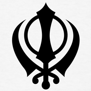 Khanda - High Quality Vector T-Shirts - Men's T-Shirt