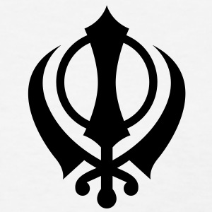 Khanda - High Quality Vector Women's T-Shirts - Women's T-Shirt