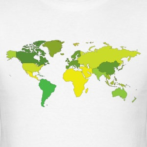 The World - High Quality Design T-Shirts - Men's T-Shirt