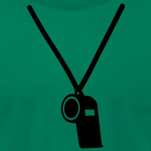 Whistle T-Shirts - Men's T-Shirt by American Apparel
