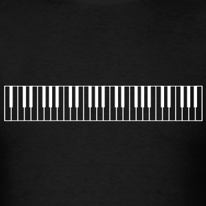 Piano Keys - High Quality Vector T-Shirts - Men's T-Shirt