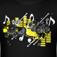 Music - High Quality Design T-Shirts