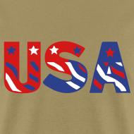 Design ~ USA flag tee