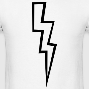 Lightning Bolt - High Quality Vector T-Shirts - Men's T-Shirt